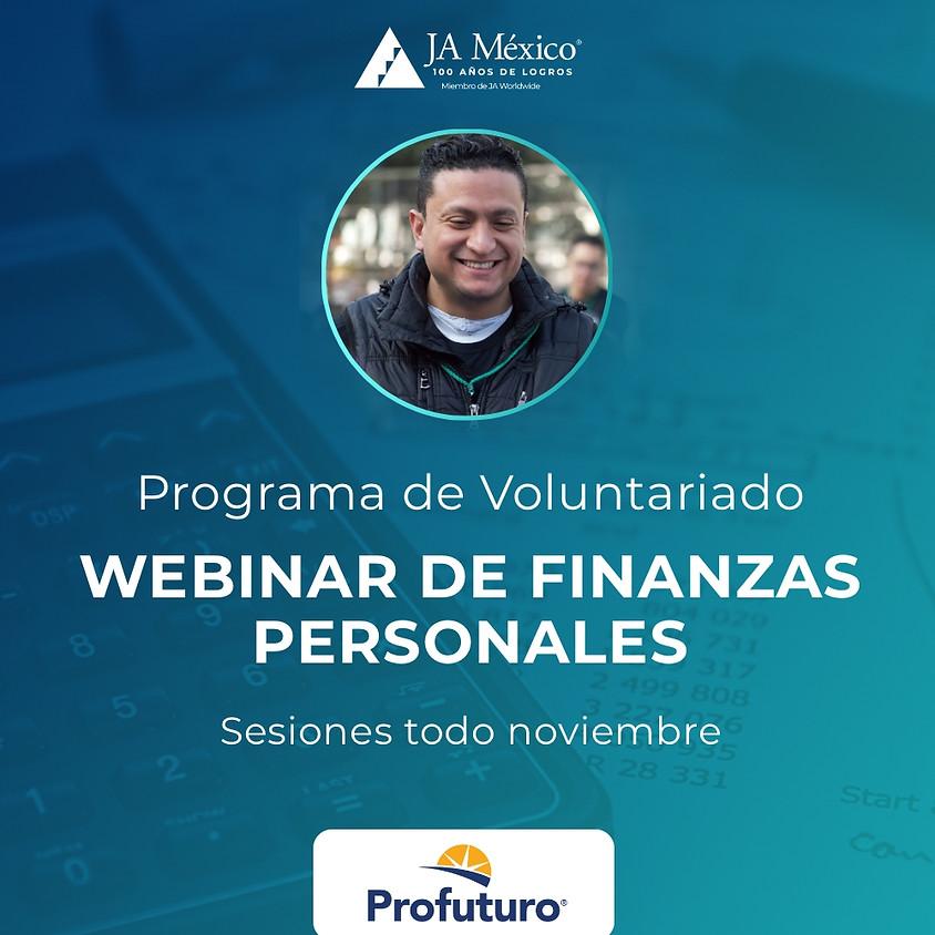 Voluntariado Profuturo | Webinar de Finanzas Personales