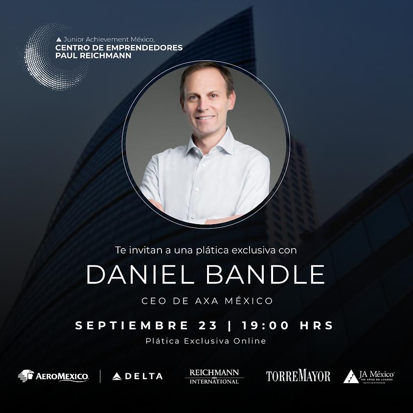 Plática Exclusiva con Daniel Bandle