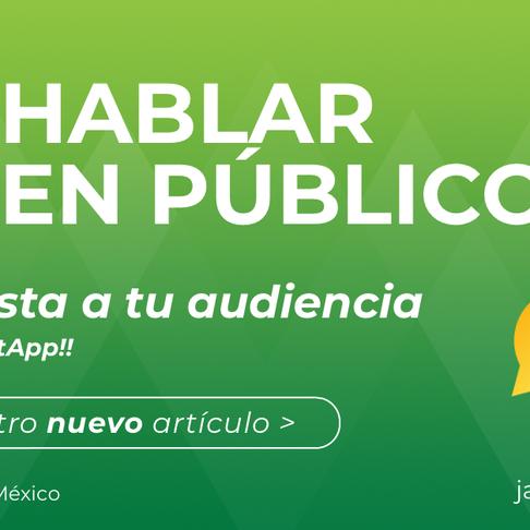 Conquista a tu audiencia | Hablar en público