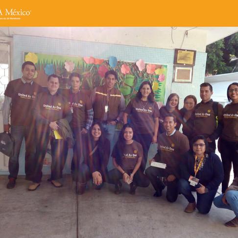 Junior Achievement México y UPS impartieron el Programa de Educación Básica Empresarial.