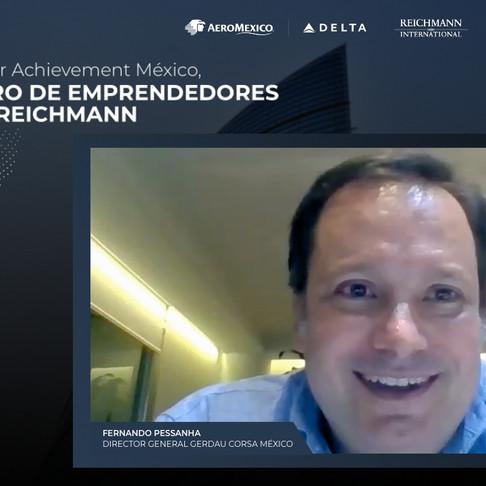 Plática Exclusiva con Fernando Pessanha Director General de Gerdau México   Centro de Emprendedores