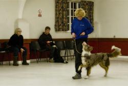 Denise and dog