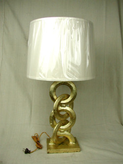 Gilded Foundry Chain Lamp