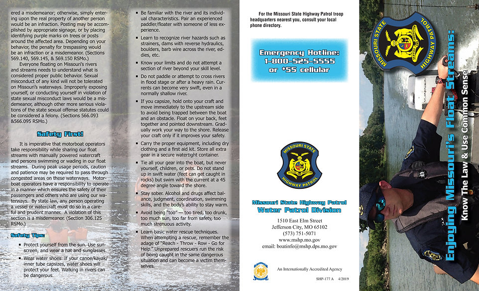 State Patrol Water Safety Brochure[11982