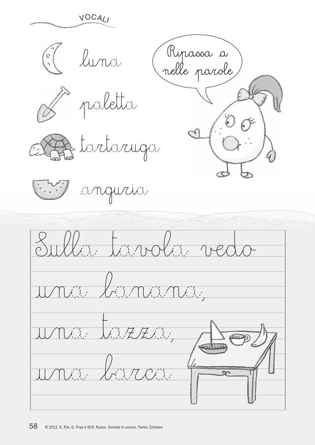 Top SCRIVERE IN CORSIVO. Attività di pregrafismo e sulle lettere | www  ZI78