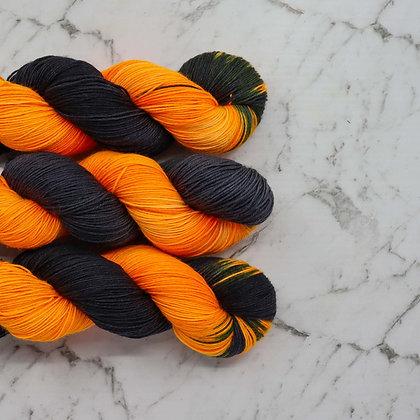 Jack O'Lantern - Hand Dyed Merino Yarn