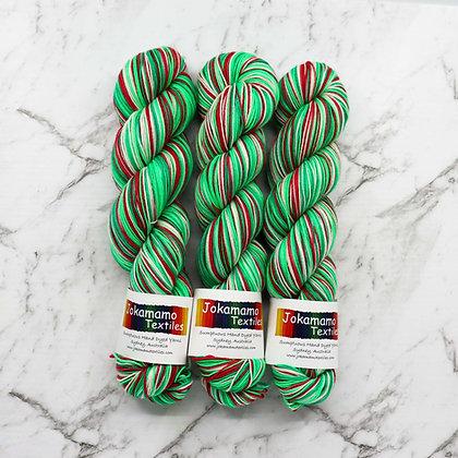 Christmas Stocking Self Striping Yarn