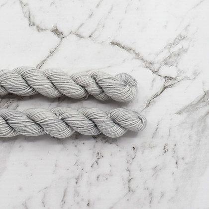 Pale Grey Mini Skeins
