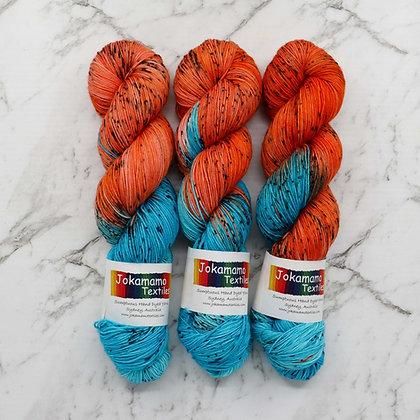 Kingfisher- Merino Nylon Sock Yarn
