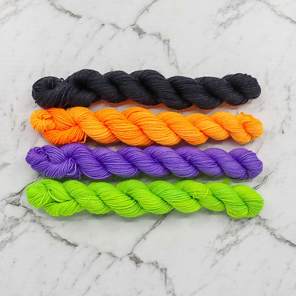 Halloween Mini Skeins
