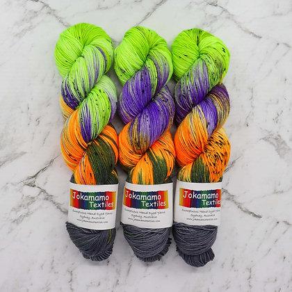 Trick or Treat - Hand Dyed Merino Yarn