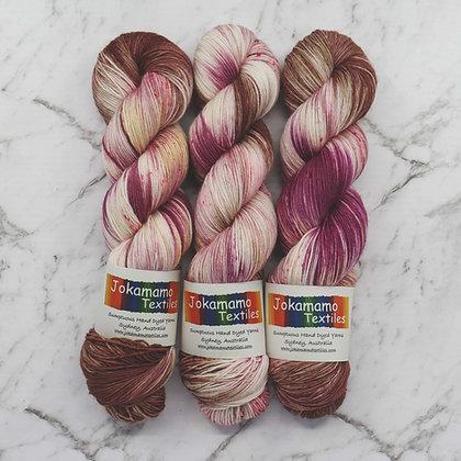 Black Forest Gateau - Hand Dyed Merino Yarn