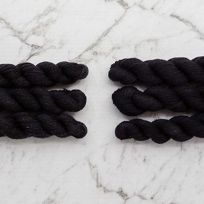 Black Mini Skeins