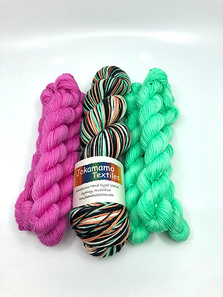 Liquorice All-Sorts Mini Skeins