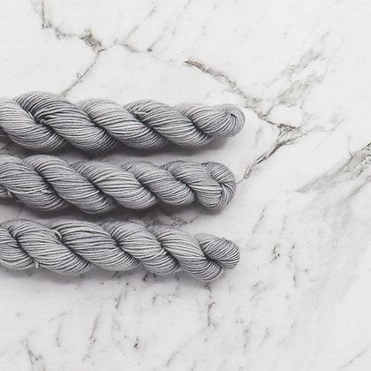 Medium Grey Mini Skeins