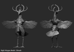 High Poly - Zbrush