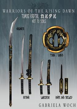 Tomoe Kartal's Weapons