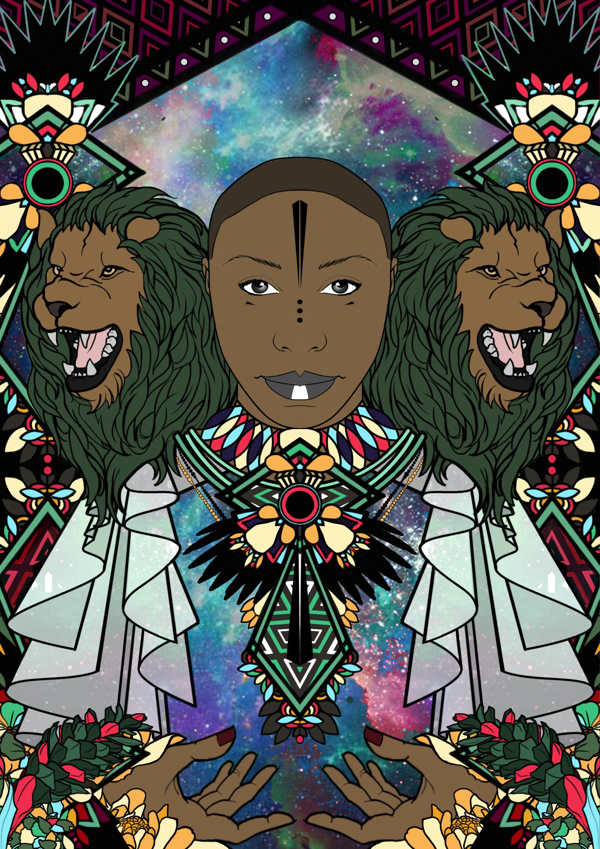 Laura mvula Illustration Design