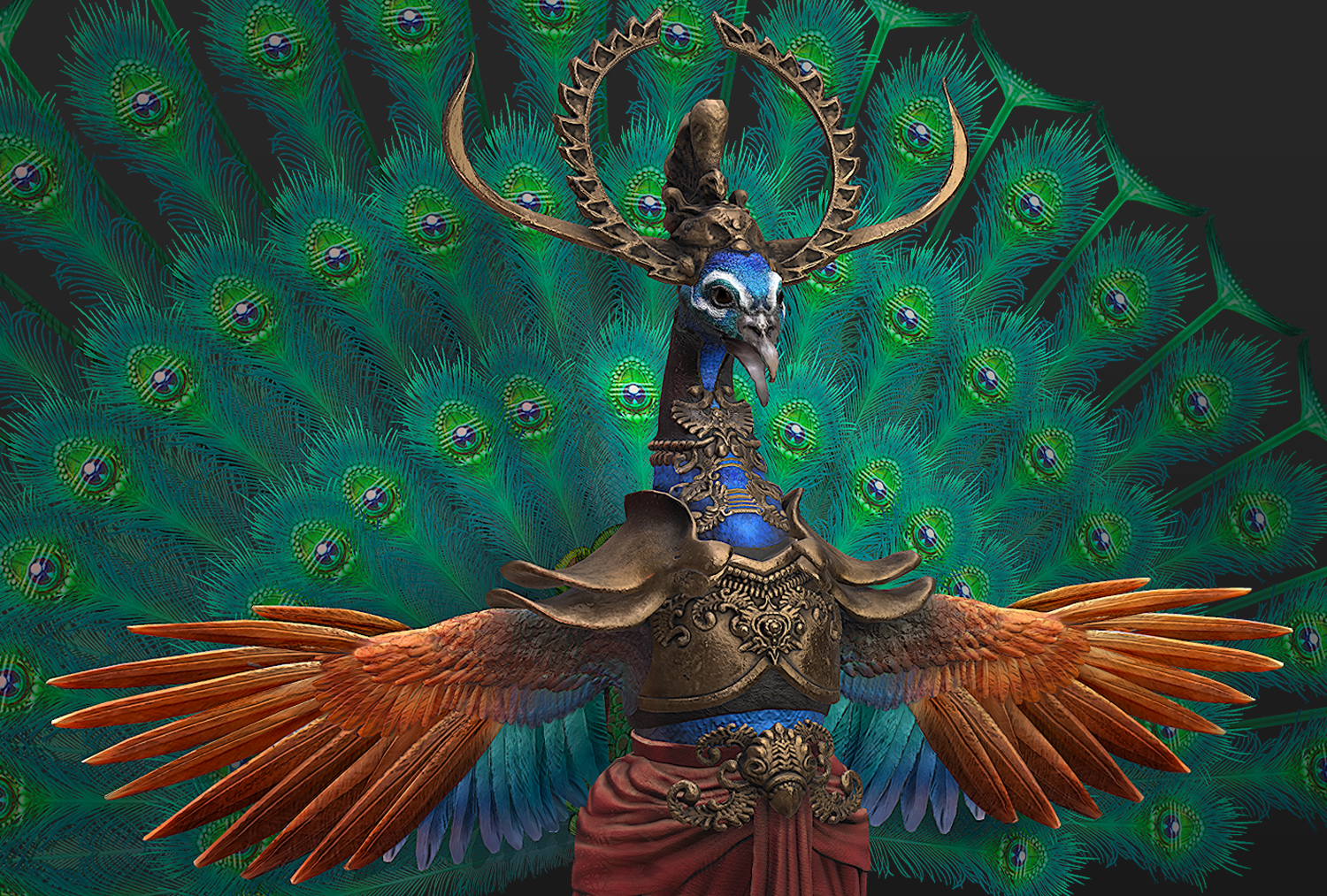 Peacock Warrior