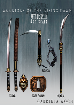 Hiei's Weapons