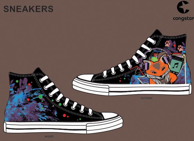 Congstar Sneakers