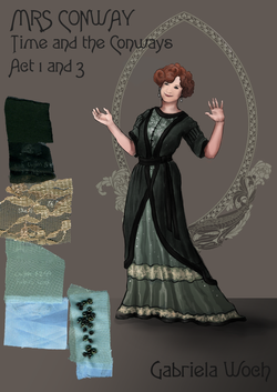 Mrs Conway [Act 1 and 3]