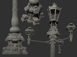 Authentic lamp