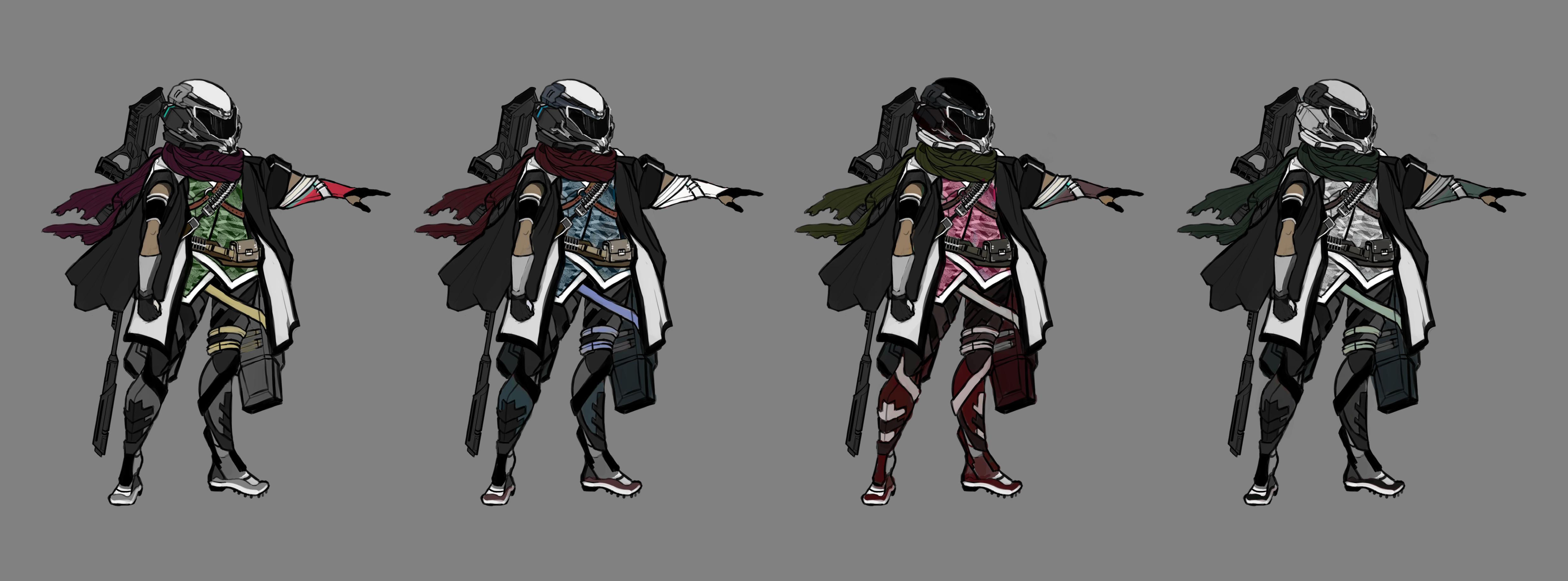 Apocalyptic Sniper Concept Design
