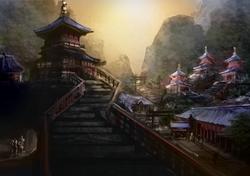 Japanese Sōhei's Temple