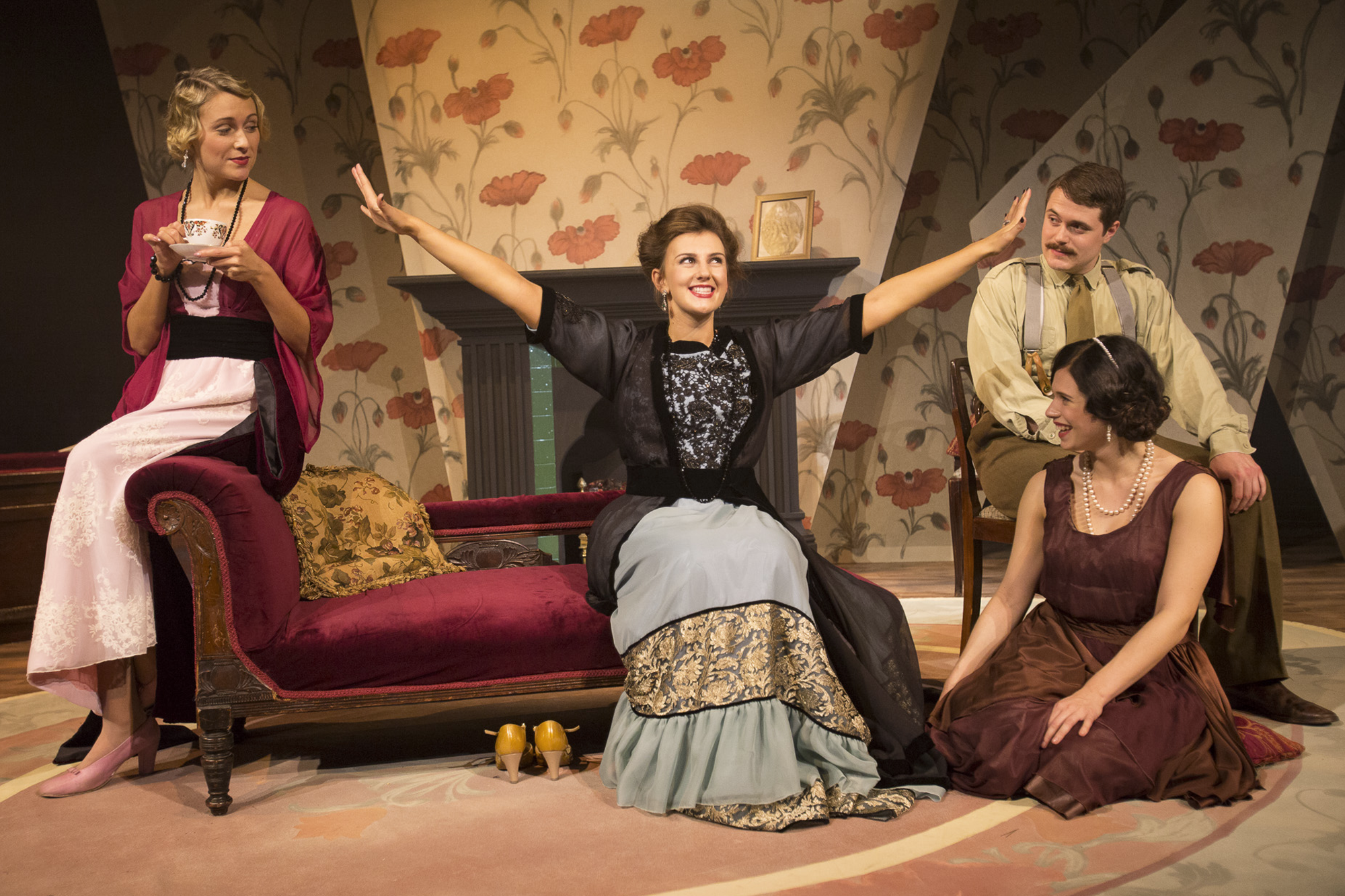 Act 3:Hazel, Mrs Conway, Joan, Robin