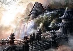 Japanese Emperor's Castle