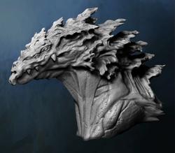 Turackunan Model Head