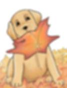 The Leaf Pup image by Belinda Elliott -