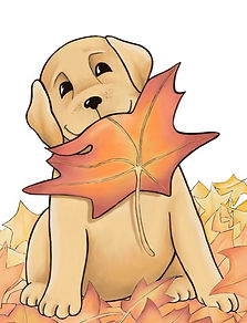 The Leaf Pup image by Belinda Elliott -