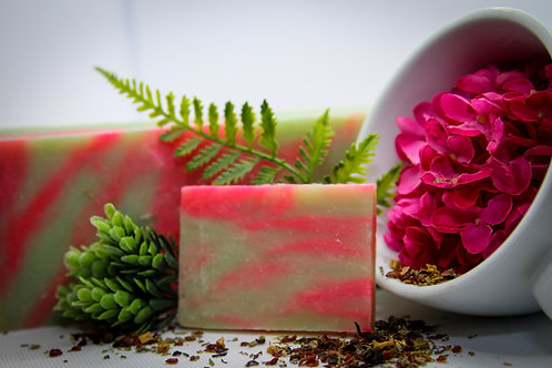 Red Clover Tea Soap