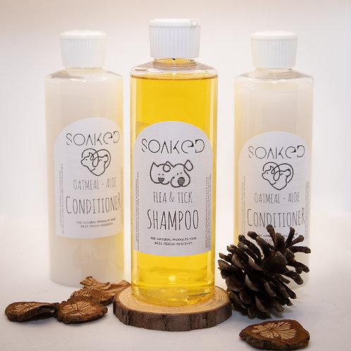 PET-Natural Flea & Tick Shampoo