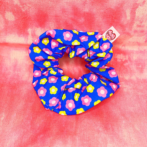 bright flowers Scrunchie