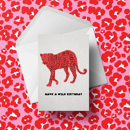 Wild Birthday | Greetings Card | A6