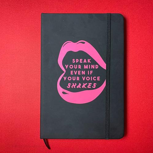speak your mind Journal A5