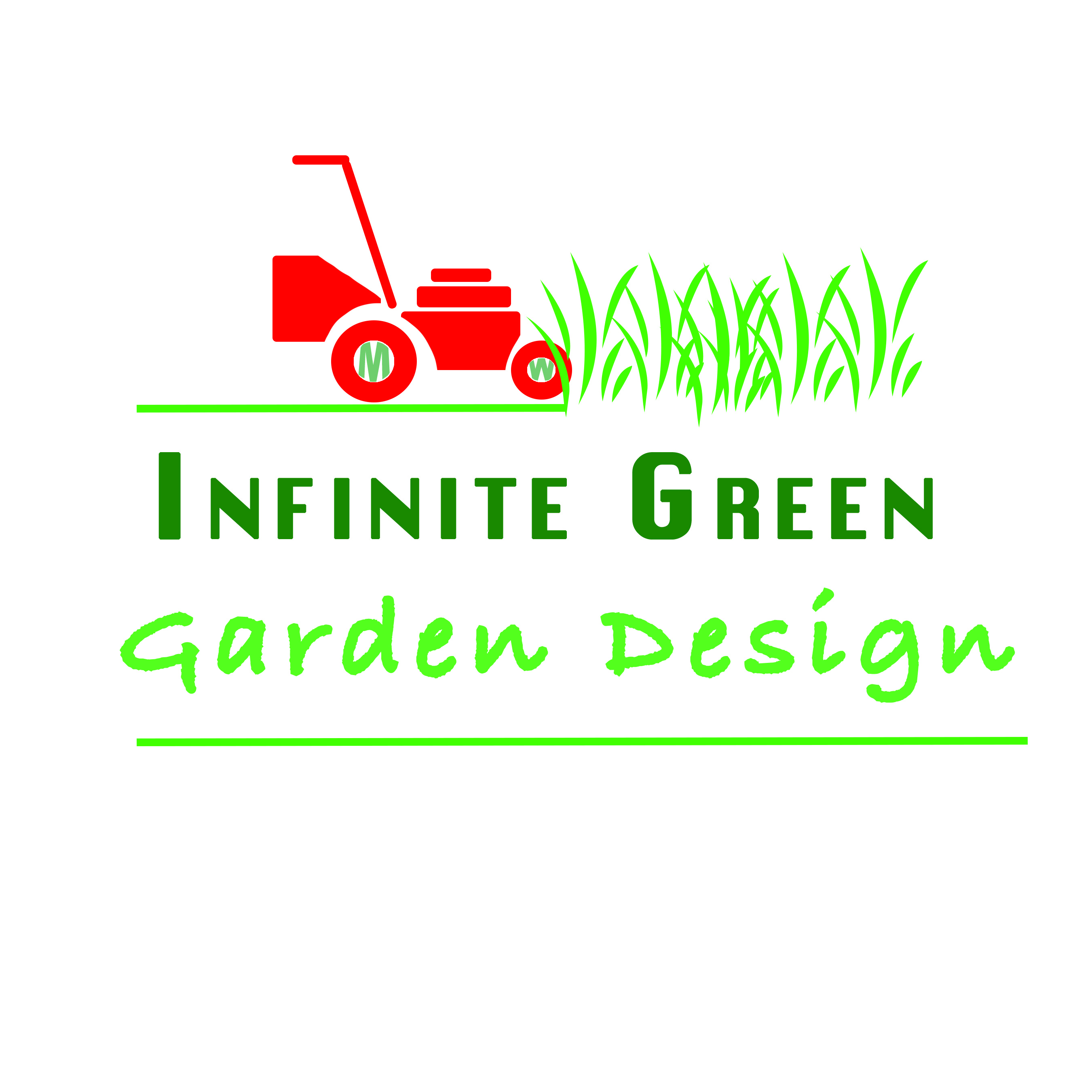 Infinite Green Garden Design