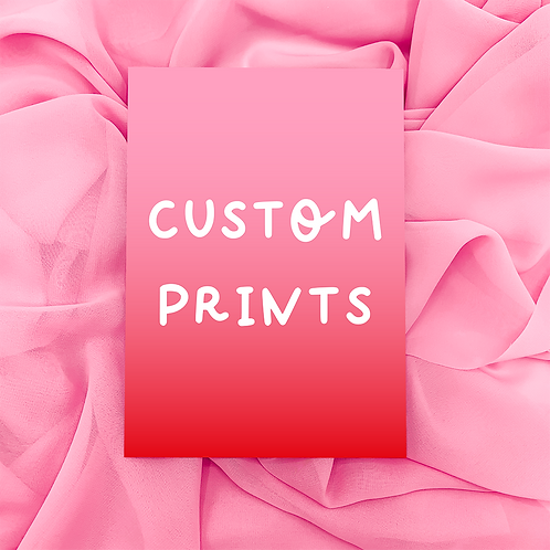 CUSTOM Art Print | A5/A4/A3 | Wall Art