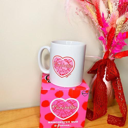 Love Manchester| Mug with Gift Box