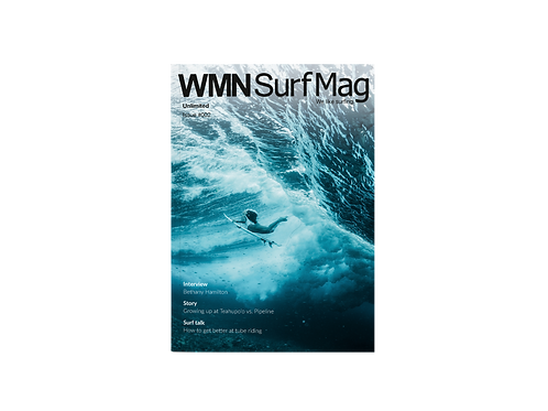 WMNSurfMag Christmas bundle Print #001 + #002