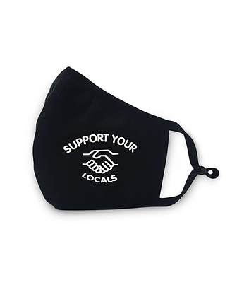 Support your Locals Maske by Unfair Athletics