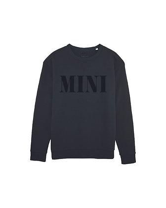 MINI Crewneck - black on black