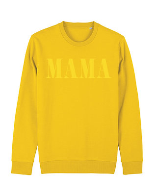 MAMA Crewneck - yellow