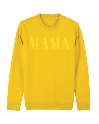 MAMA Crewneck - yellow
