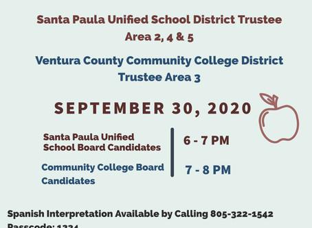 Santa Paula Education Candidate Forum
