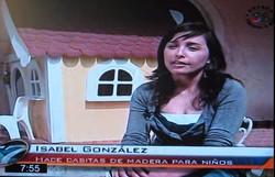Isa platicando sobre Las Casitas