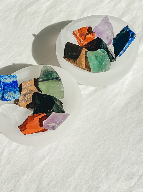 KO SHA Selenite Charging Crystal Bowl